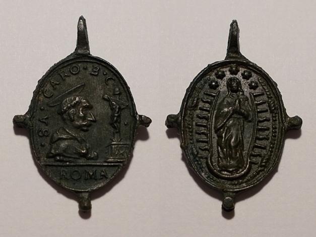 San Carlos Borromeo / Inmaculada (R.M. SXVII-O425) 20170204b